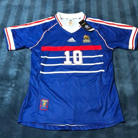 bc63da0ad Adidas France 98 World Cup  10 ZIDANE